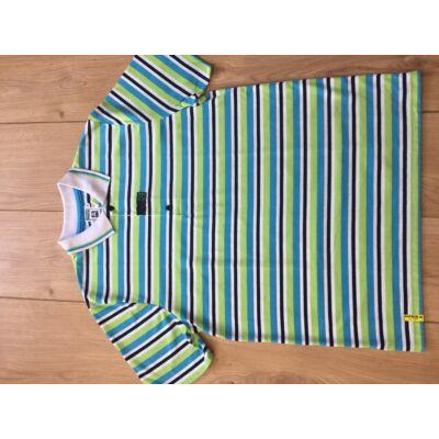 Galléros -csíkos póló (4 színű)