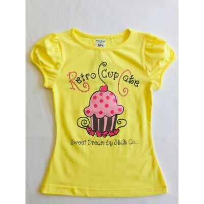 Lány póló muffinos (104-134)