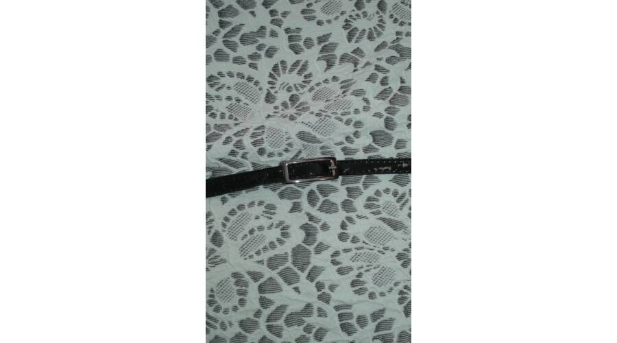 Alkalmi ruha csipke hatású szürke drapp (140 164) Ruha