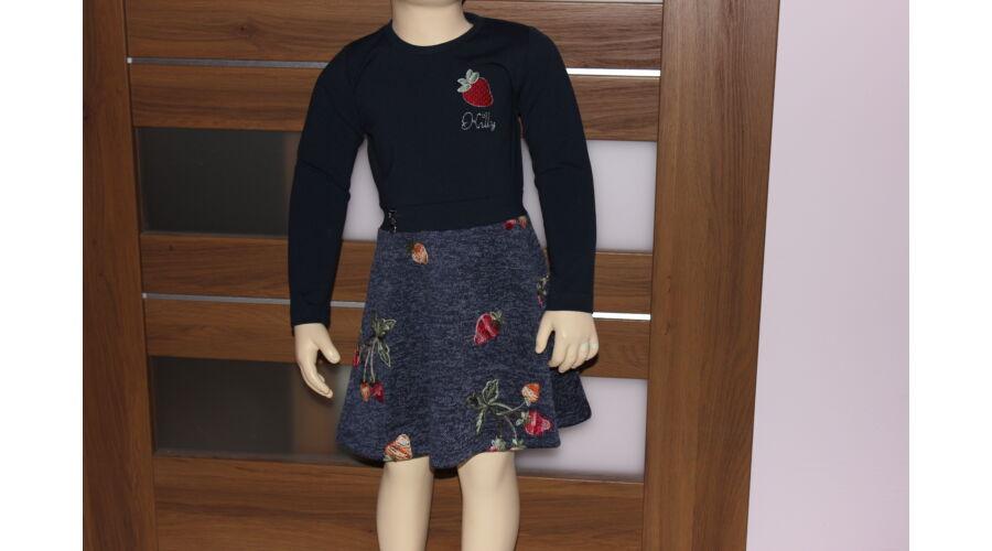 15bb3f4282 Epres ruha sötétkék (104-128) - Ruha, alkalmi ruha ...