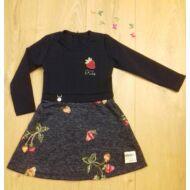 Epres ruha sötétkék (104-128)