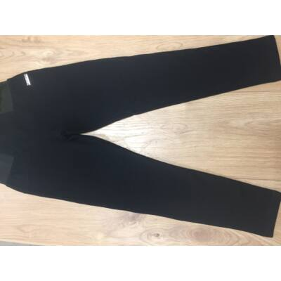 Bolyhos divatnadrág (fekete)