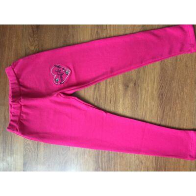 Hímzett szíves nadrág (pink)