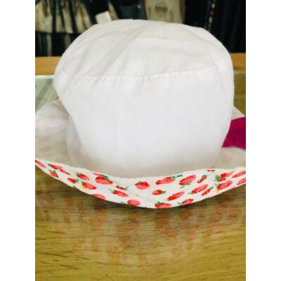 Nyári gumis kalap (epres)